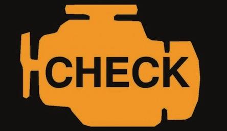 Загорелся check engine1