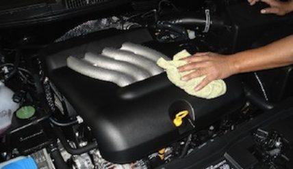 Мытье двигателя снаружи