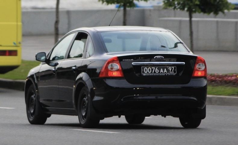 Что означают черные номера на автомобилях1