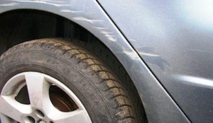 Удаление царапин с автомобиля