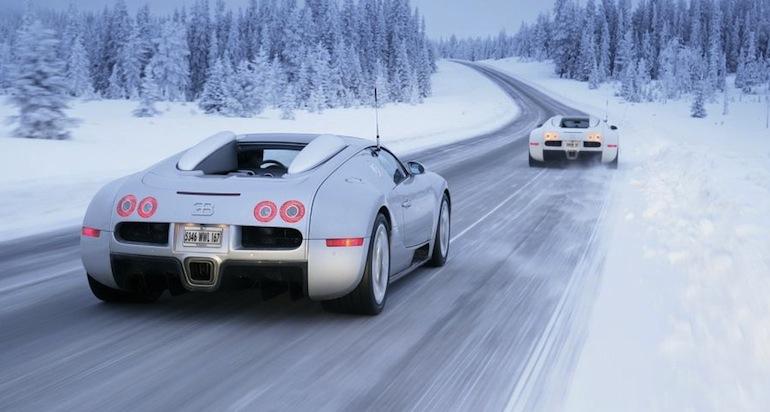 Езда на автомобиле зимой3