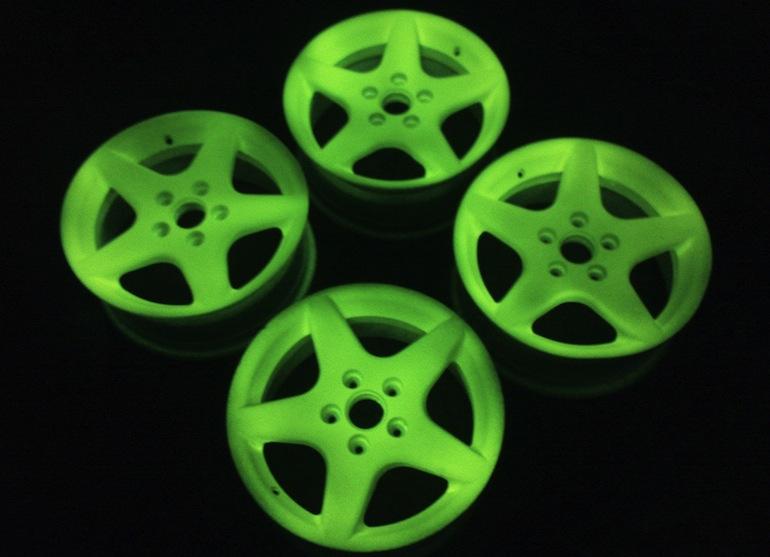 Светящиеся диски на авто2