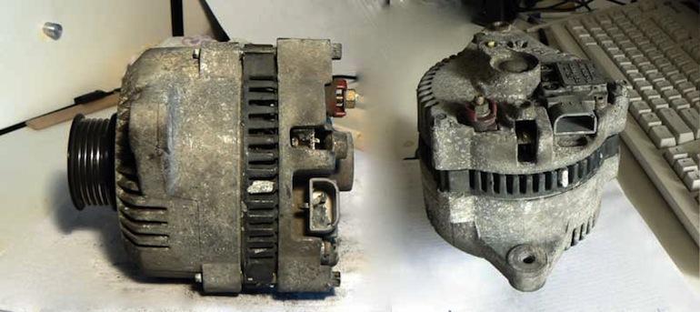 Устройство автомобильного генератора2