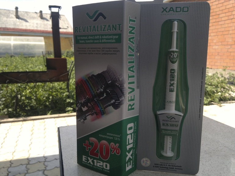 XADO - присадки для двигателя1