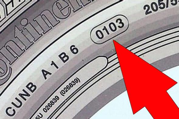 маркировка шин-Дата производства