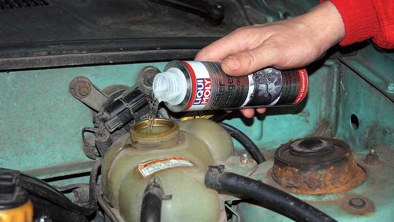 Как промыть систему охлаждения двигателя4