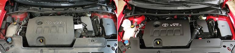 Мытье двигателя на мойке3