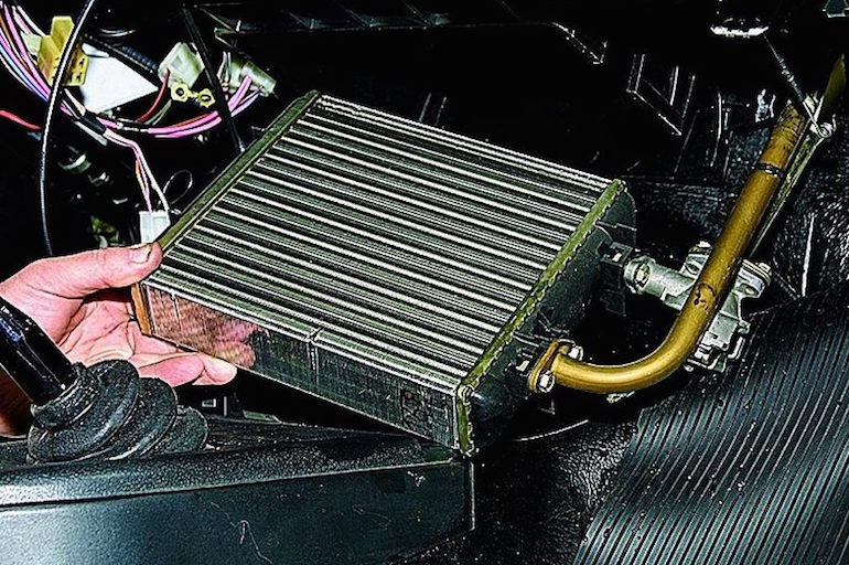 Почему плохо греет печка на ВАЗ 2109-1