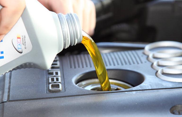 Промывка двигателя при замене масла3