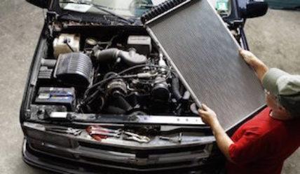 Течь радиатора автомобиля – устранение + ВИДЕО
