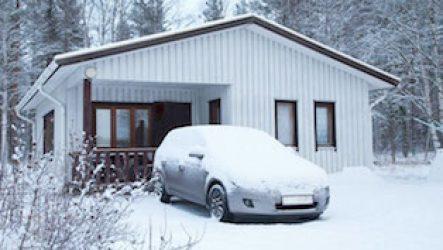Заводим машину зимой