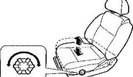 Регулируем водительское сиденье
