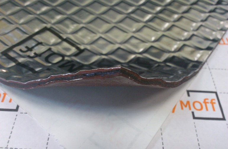 Материалы для шумоизоляции автомобиля вибродемпфер