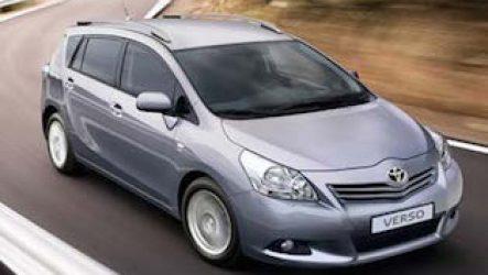 Минивэны Toyota