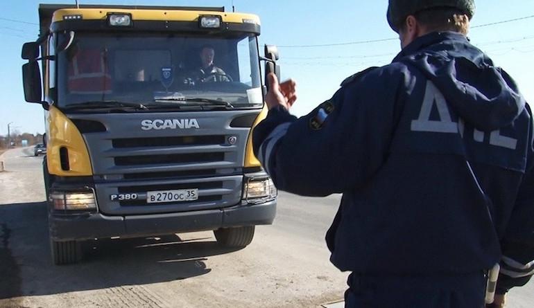 Перегруз грузового автомобиля3