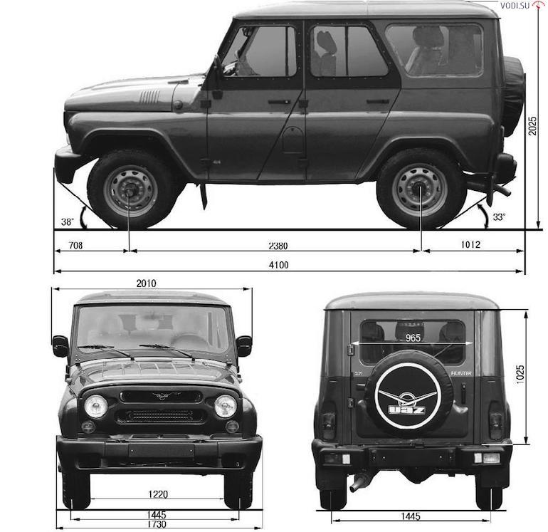 УАЗ Хантер-3