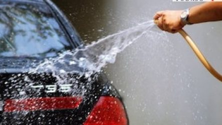Места, где мыть машину запрещено