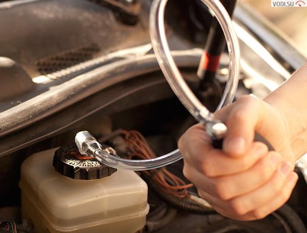 Прокачка тормозов с ABS2