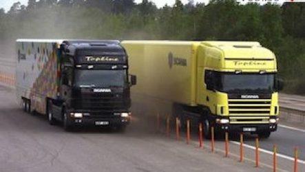 Обмен грузовых автомобилей
