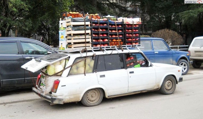 Правила перевозки груза на легковом автомобиле2