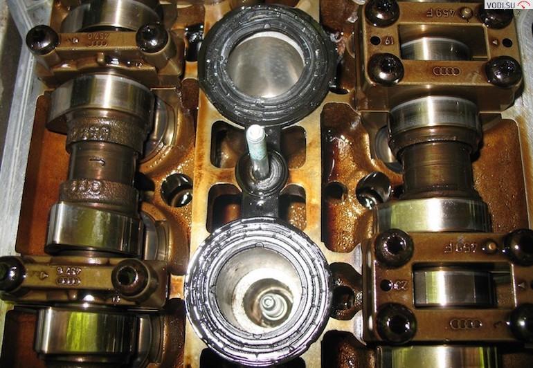 Промывка двигателя перед заменой масла2