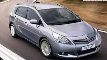 Минивэны Toyota с левым рулем