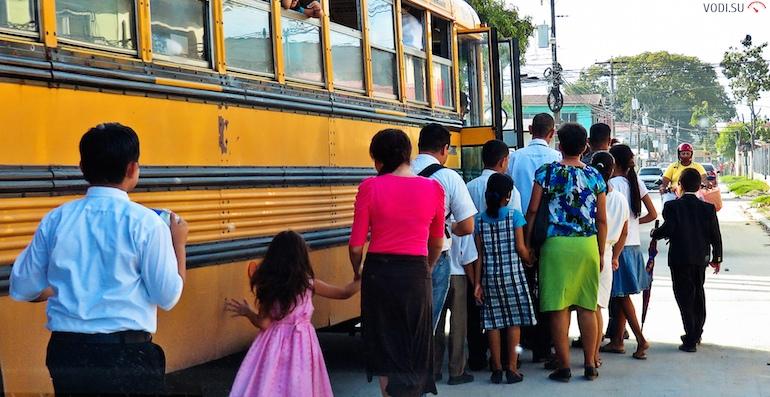 Перевозка детей в автобусах2