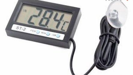 Авто термометры с внешними датчиками