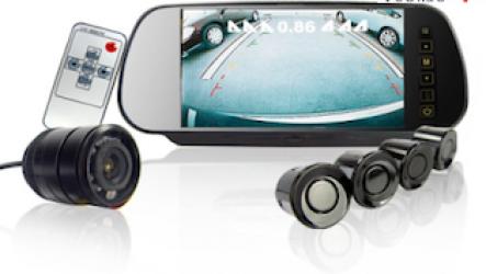 Камеры заднего вида для автомобилей с монитором