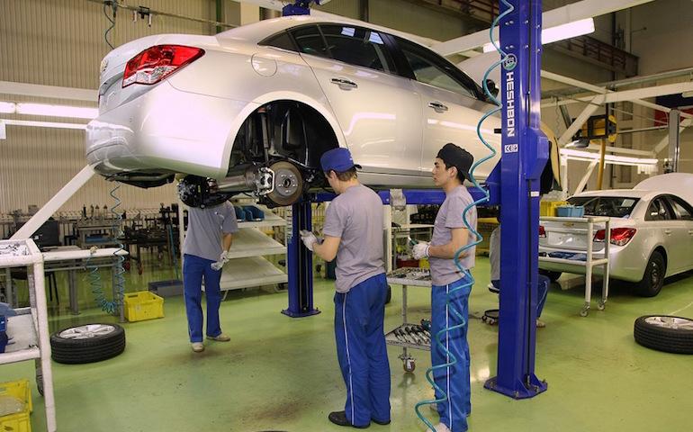 Сборка автомобилей в России11