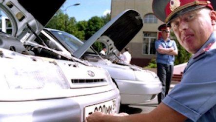 Продажа машины без снятия с учета