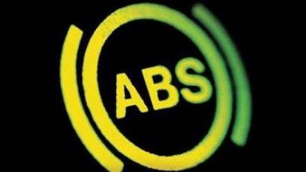 Торможение с ABS и без ABS